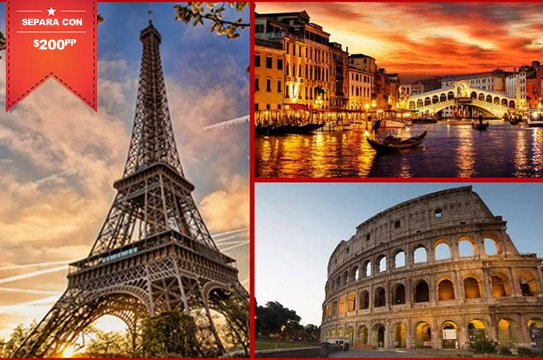 E vacations donde todos los viajes est n en oferta for Viajes baratos paris barcelona